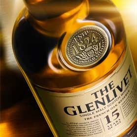 Single malt - Glenlivet 15-letni
